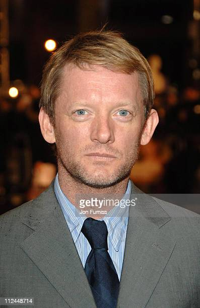 Douglas Henshall during Becoming Jane London Premiere Inside Arrivals at Odeon Westend in London Great Britain