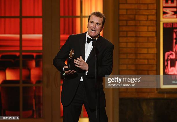 Douglas Hodge accepts his award onstage during the 64th Annual Tony Awards at Radio City Music Hall on June 13 2010 in New York City