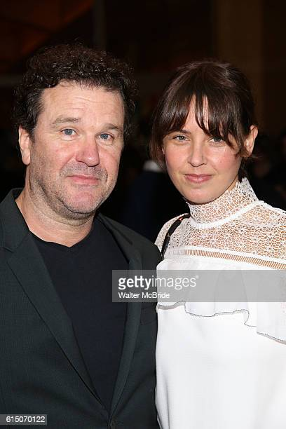 Douglas Hodge and Amanda Miller attend the Broadway Opening Night performance of The Cherry Orchard at the American Airlines Theatre on October 16...