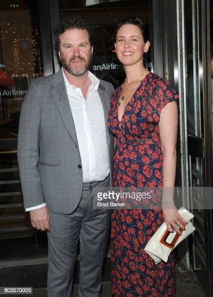 Douglas Hodge and guest attend Marvin's Room Broadway Opening Night at American Airlines Theatre on June 29 2017 in New York City