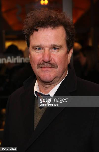 Douglas Hodge attends the Broadway Opening Night Performance of John Lithgow Stories by Heart at the American Airlines Theatre on January 11 2018 in...