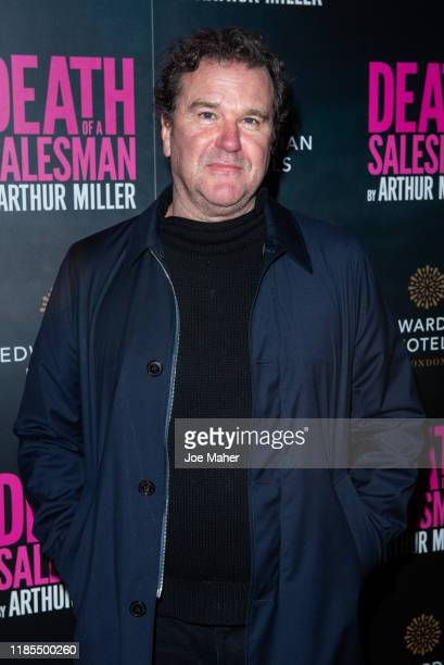 Douglas Hodge attends the Death of a Salesman press night at Piccadilly Theatre on November 04 2019 in London England