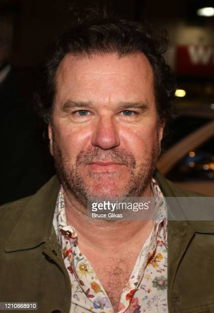 Douglas Hodge poses at the opening night of the new Bob Dylan Musical Girl From The North Country on Broadway at The Belasco Theatre on March 5 2020...