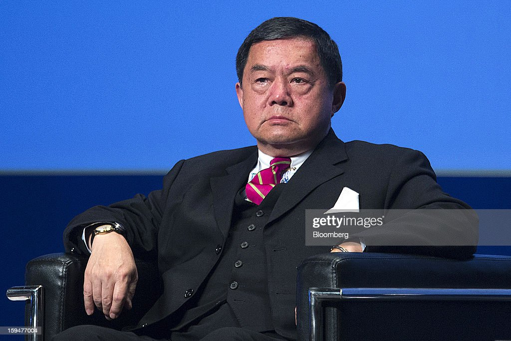 Douglas Hsu, chairman of Far Eastern Group, listens during a session at the Asian Financial Forum in Hong Kong, China, on Monday, Jan. 14, 2013. The Asian Financial Forum runs until Jan. 15. Photographer: Jerome Favre/Bloomberg via Getty Images
