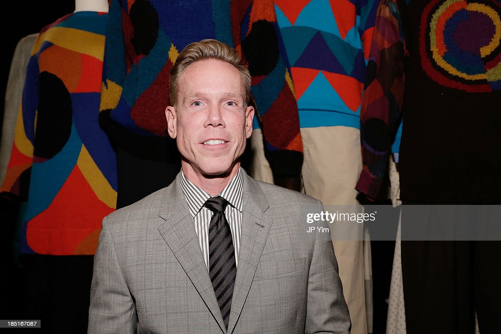 Douglas Jakubowski, Chief Merchandising Officer at Perry Ellis, attends 'Perry Ellis: An American Original' By Jeffrey Banks book launch hosted by the CFDA, Perry Ellis and Parsons the New School for Design on October 17, 2013 in New York City.