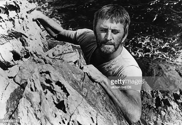 Douglas Kirk * Schauspieler USA Rollenportrait in dem Film 'Das Licht am Ende der Welt' Regie Kevin Billington USA 1971