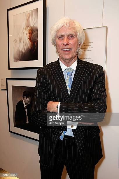 Douglas Kirkland attends the Annenberg Foundation launch of the Annenberg Space For Photography on March 25 2009 in Los Angeles California