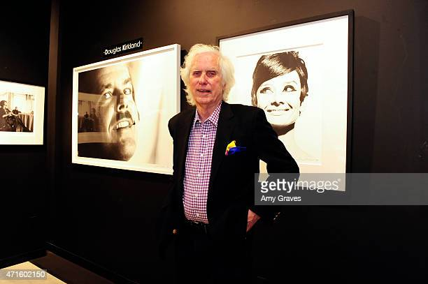 Douglas Kirkland attends the PHOTO France LA Issue Release Party At Mouche Gallery In Beverly Hills on April 29 2015 in Beverly Hills California