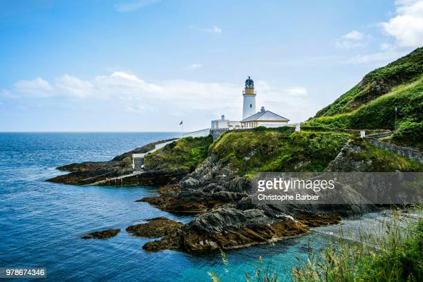 douglas lighthouse - isle of man stock pictures, royalty-free photos & images