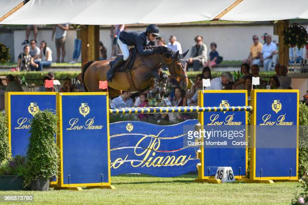 Douglas LINDELOW of Sweden riding JEZEBEL during Loro Piana Grand Prix Piazza di Sienna on May 26 2018 in Villa Borghese Rome Italy nUnited States of...