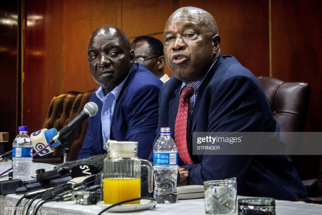 ZIMBABWE-POLITICS-DEMO : News Photo