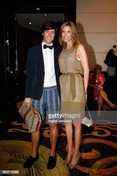 Douglas Marshall and Anna Rhodes Victor attend LITTLE FLOWER's Rose Luncheon Honoring CHRISTINE MERSER at The Mandarin Oriental Hotel on June 8, 2009...