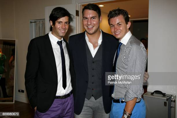 Douglas Marshall, Gregory Littley and Sean Stevens attend PAIGE GAMBLE and KARA ACKERMAN Spring/Summer Trunk Show at The Pucci Building on May 20,...
