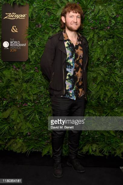 Douglas McMaster attends the official Ron Zacapa rum opening event of The World Restaurant Awards 2019 at Malro on February 17th 2019 in Paris France...