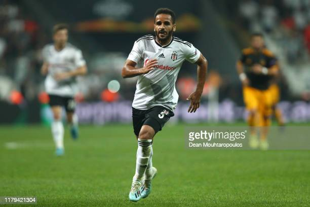 Douglas of Besiktas in action during the UEFA Europa League group K match between Besiktas and Wolverhampton Wanderers at Vodafone Park on October...