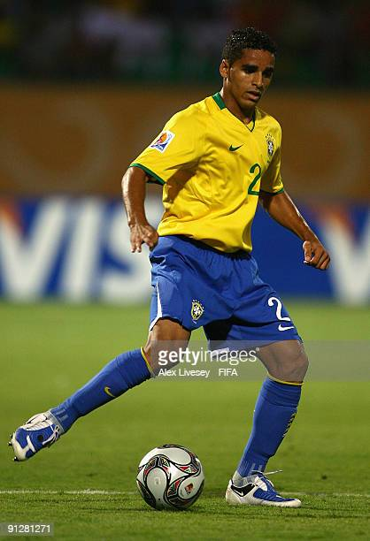 Douglas of Brazil during the FIFA U20 World Cup Group E match between Brazil and Czech Republic at the Port Said Stadium on September 30 2009 in Port...