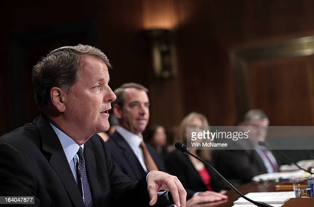 Douglas Parker chairman and CEO of the US Airways Group Thomas Horton chairman of the president and CEO of American Airlines Diana Moss director and...