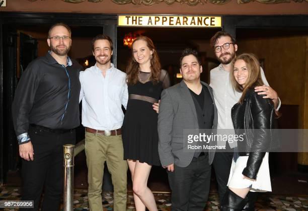 Douglas Pasko Jake Stormoen Baylee Self Kurt Knight Benjamin Allred and Lauren Spalding attend The Appearance Movie Premiere At Cinepocalypse at...