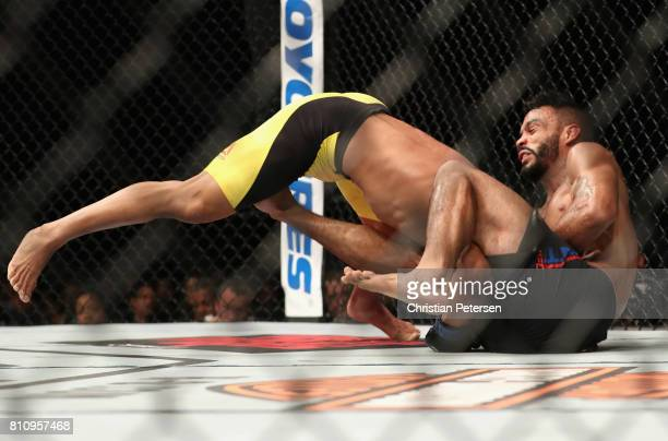 Douglas Silva de Andrade of Brazil takes down during the UFC 213 event at TMobile Arena on July 8 2017 in Las Vegas Nevada