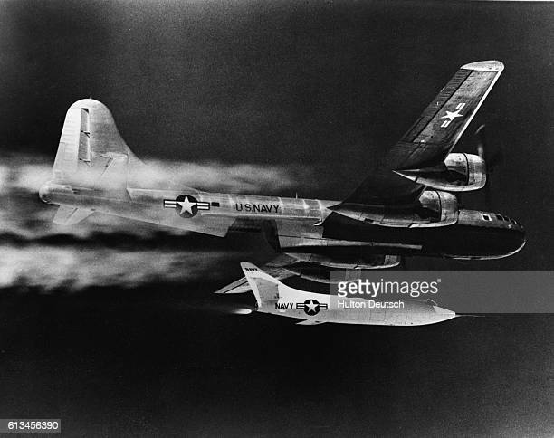 Douglas Skyrocket Launches from B-29