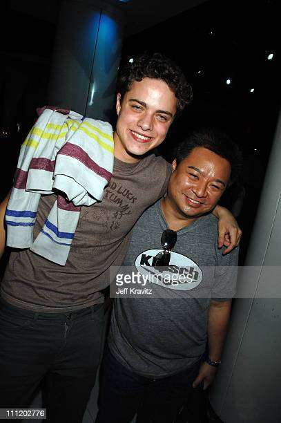 """Douglas Smith and Rex Lee during Comedy Cares Celebrity Poker Tournament at the HBO & AEG Live's """"The Comedy Festival"""" 2007 at Caesars Palace on..."""