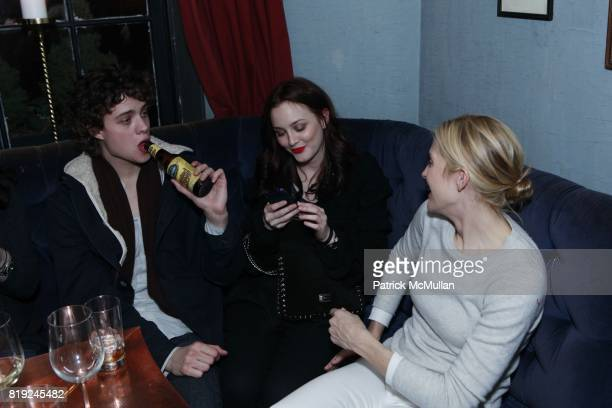 Douglas Smith Leighton Meester and Kelly Rutherford attend SONIA RYKIEL POUR HM Exclusive Preview at Bobo on February 4 2010 in New York City
