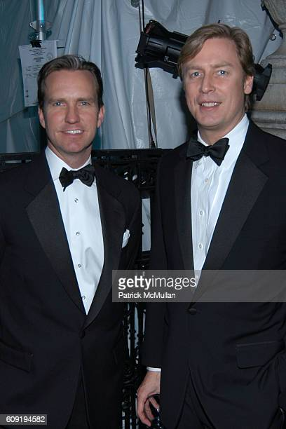 Douglas Steinbrech and Jeffrey Sharp attend Museum of the City of New York Director's Council Winter Ball at Museum of the City of New York on...