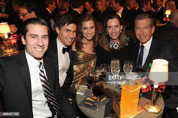 "Douglas Williams, Ricky Van Veen, actress Allison Williams, Jane Stoddard Williams and News anchor Brian Williams attend Spike TV's ""Don Rickles: One..."