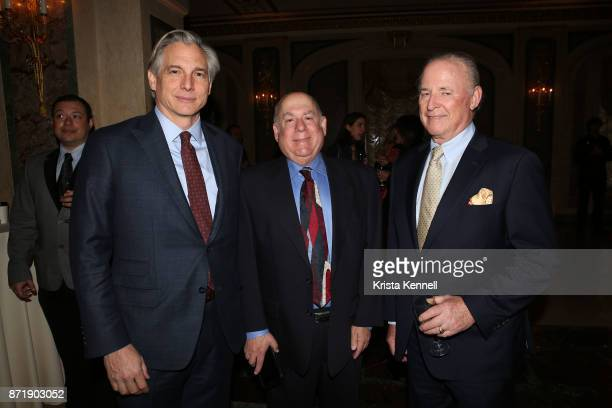 Douglas Wright Michael Rubey and Martin Gruss attend Hope for Depression Research Foundation's 11th Annual Luncheon Honoring Ashley Judd at The Plaza...