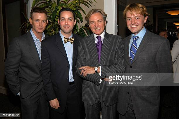 Dougles Wittels Jerry Farial Geoffrey Bradfield and Roric Tobin attend Lenox Hill Neighborhood House Celebrates the 40th Anniversary of the DD...