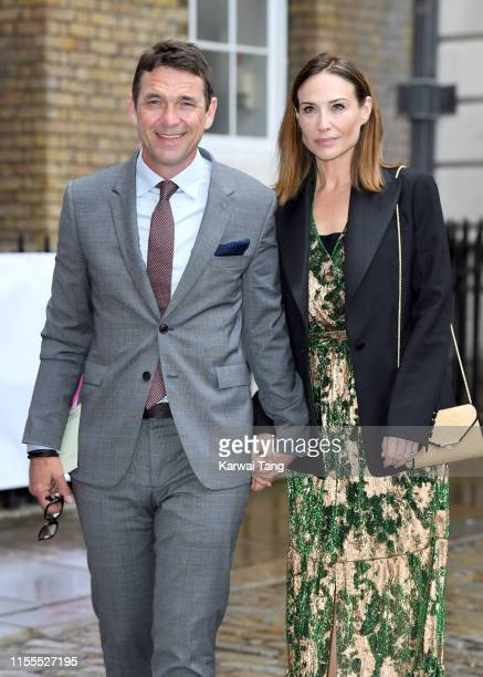 Dougray Scott and Claire Forlani attend the first annual gala dinner in recognition of Addiction Awareness Week at Phillips Gallery on June 12 2019...