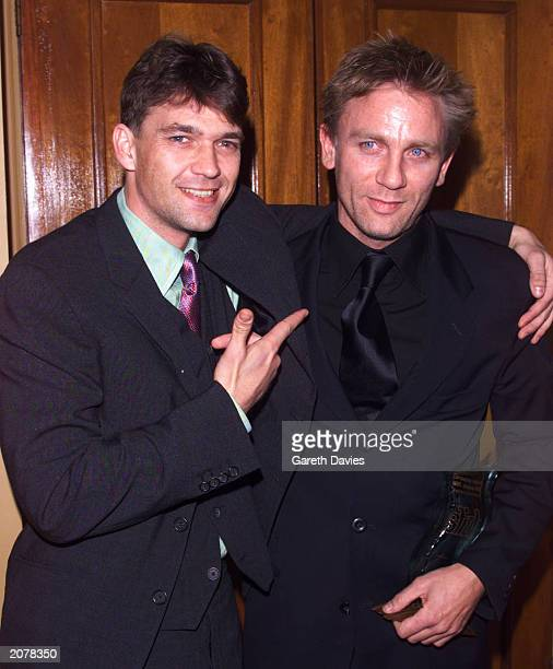 Dougray Scott and Daniel Craig attend the British Independent Film Awards on October 25 2000 at the Cafe Royal Hotel in London England Daniel Craig...