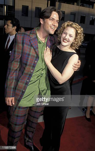 Dougray Scott and Drew Barrymore during 'Ever After' Los Angeles Premiere at The Academy in Beverly Hills California United States