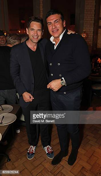 Dougray Scott and Tamer Hassan attend the STYLE x PRINCIPAL Party at The Principal Manchester on November 3 2016 in Manchester England