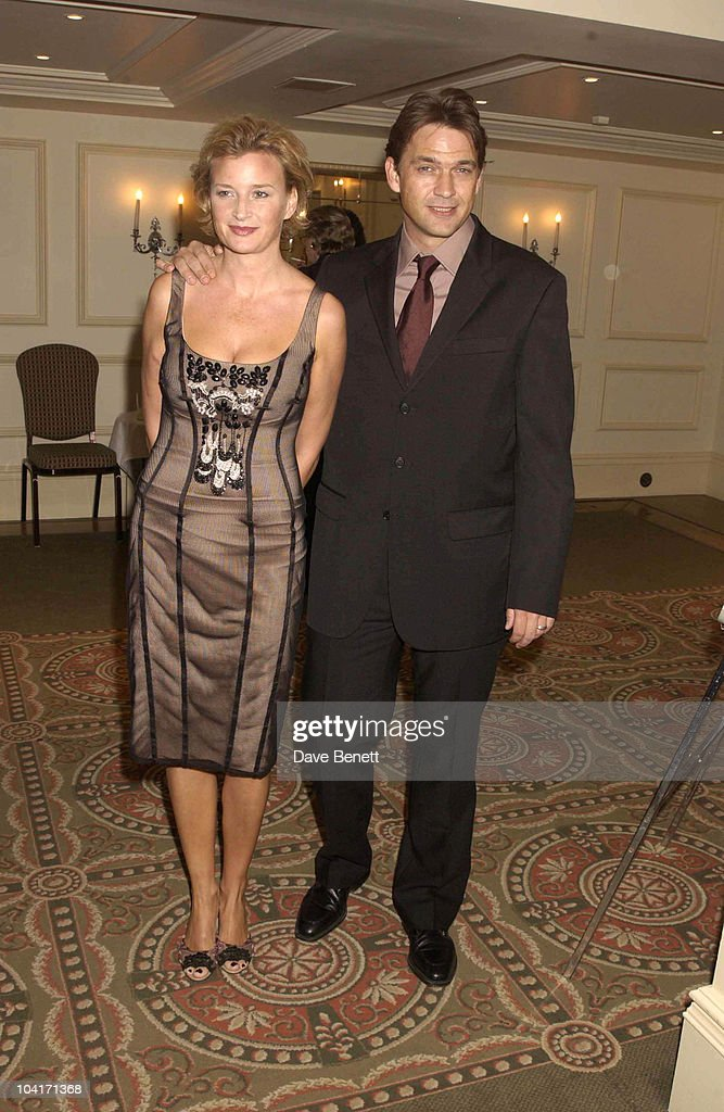 Dougray Scott And Wife Sarah, The Evening Standard Film Awards, At The Savoy Hotel In London