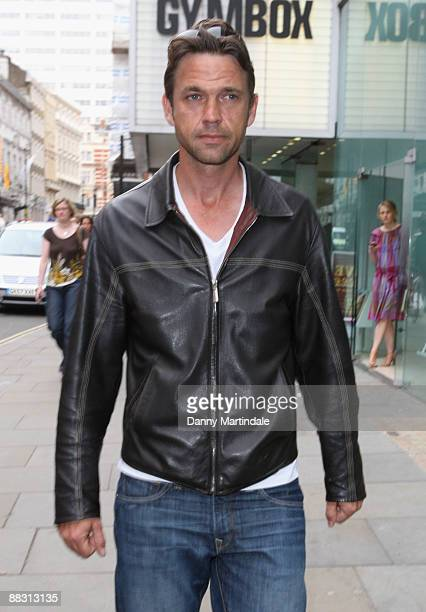 Dougray Scott attends Simon Aboud book launch party at the St Martins Lane Hotel on June 8 2009 in London England