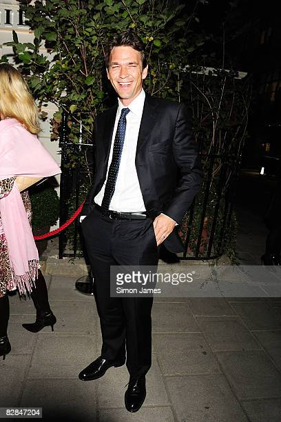Dougray Scott attends the launch of Home of Alfred Dunhill on September 16 2008 in London England