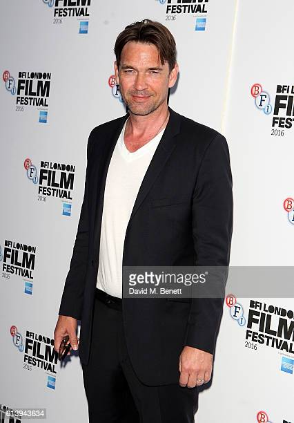 Dougray Scott attends the 'London Town' screening during the 60th BFI London Film Festival at Haymarket Cinema on October 11 2016 in London England