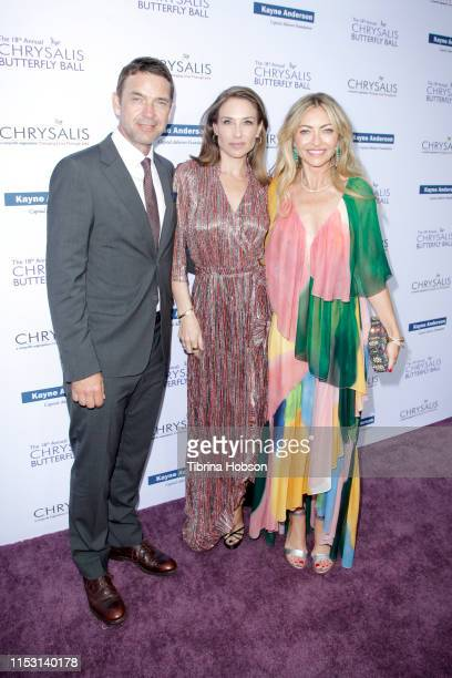 Dougray Scott Claire Forlani and Rebecca GayheartDane attend the 18th annual Chrysalis Butterfly Ball on June 01 2019 in Brentwood California