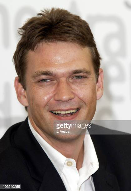 Dougray Scott during 2002 Venice Film Festival Ripley's Game Photocall at Casino in Venice Lido Italy