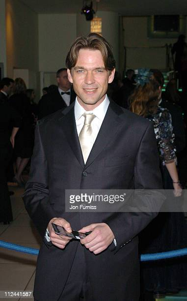 Dougray Scott during 2004 BAFTA Awards Inside Arrivals at The Odeon Leicester Square in London United Kingdom