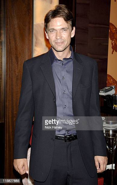 Dougray Scott during Clare Staples' Everything I Know About Men I Learnt From My Dog Book Launch Party Inside at St James Street in London Great...
