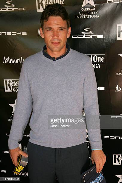 Dougray Scott during Golf Digest Celebrity Invitational at Wilshire Country Club in Hollywood California United States