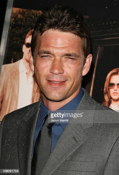Dougray Scott during NBC's Heist Premiere Arrivals at Bulgari in Beverly Hills California United States