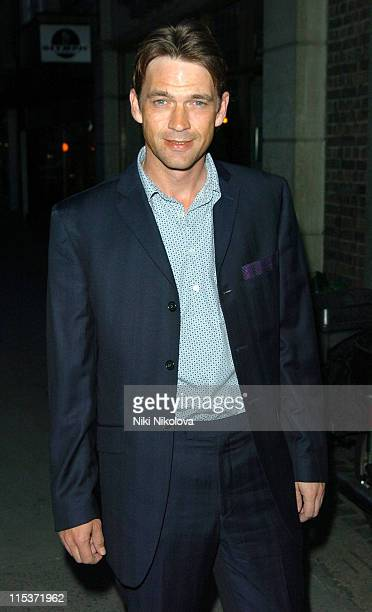 Dougray Scott during OneOnly Reethi Rah PreLaunch Dinner at Sketch in London Great Britain
