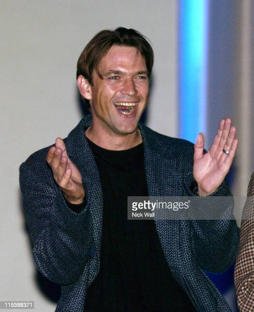 Dougray Scott during The Times BFI London Film Festival 2003 One Last Chance Screening at Odeon West End in London Great Britain