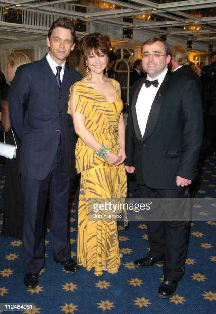 Dougray Scott Emma Samms and Neil Snow during Starlight Ball 2005 Inside at Park Lane in London Great Britain