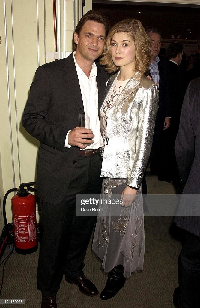 Dougray Scott & Rosamund Pike, The Empire Movie Awards 2003 Held At The Dorchester Hotel In London