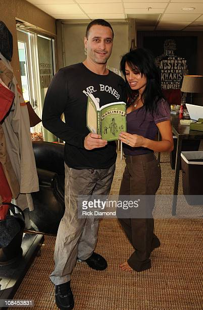 Doung Nadus and Tatiana Toler attend the Dockers Pantsformation Lounge at Doubletree Surfcomber Hotel South Beach on February 7 2010 in Miami Beach...