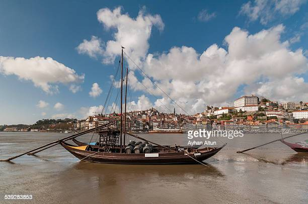 Douro River in Porto,Portugal